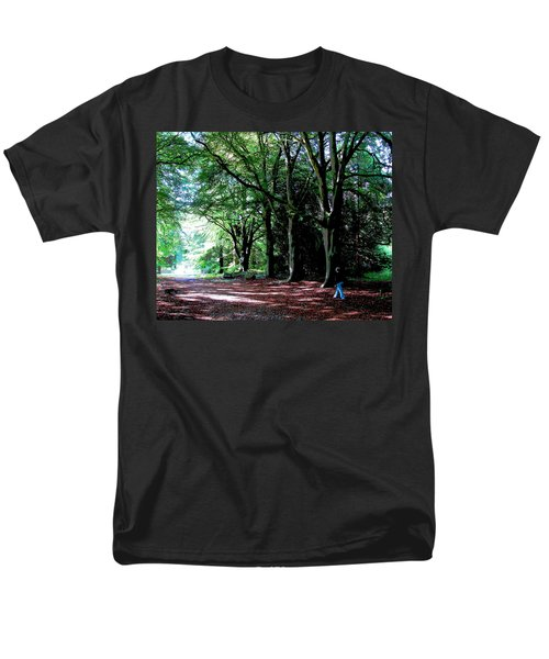 Men's T-Shirt  (Regular Fit) featuring the photograph At Peace With Nature by Charlie Brock