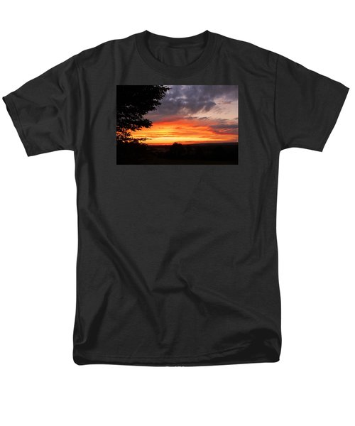 Men's T-Shirt  (Regular Fit) featuring the photograph At The End Of The Day ... by Juergen Weiss