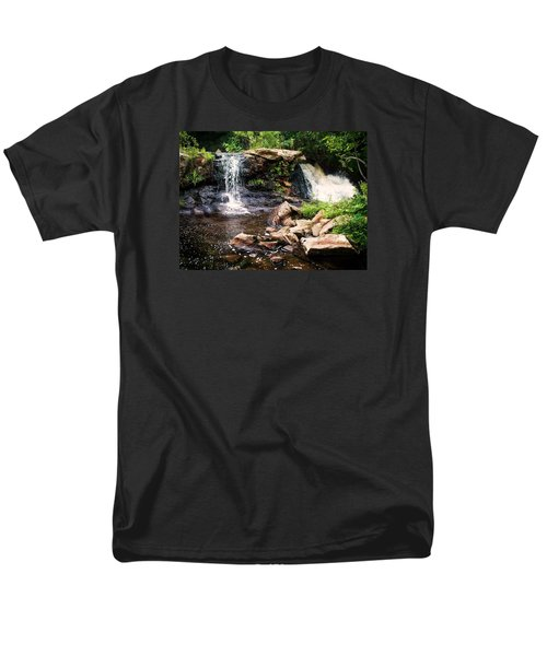 At The Mill Pond Dam Men's T-Shirt  (Regular Fit) by Joy Nichols
