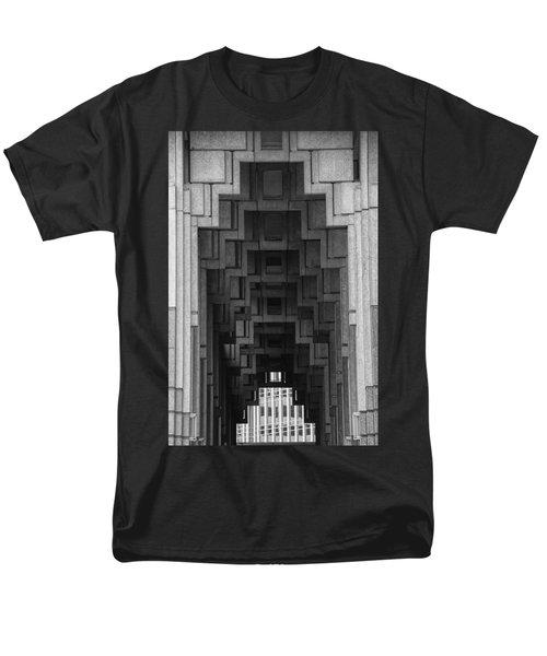 Atlanta Ga Architecture-city Building Men's T-Shirt  (Regular Fit) by Douglas Barnard