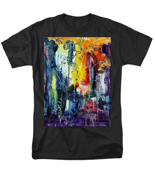 Atlantis Sinking Men's T-Shirt  (Regular Fit) by Regina Valluzzi