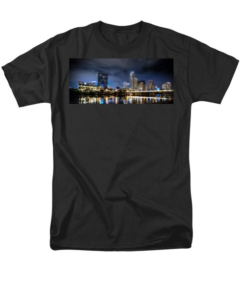 Austin Skyline Hdr Men's T-Shirt  (Regular Fit) by David Morefield