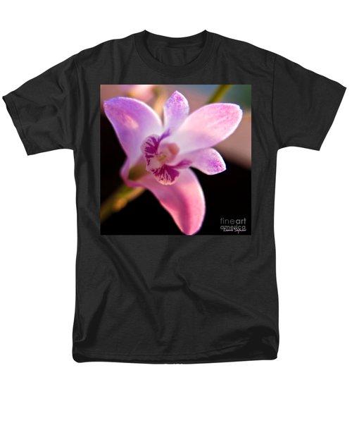 Australian Bush Orchid Men's T-Shirt  (Regular Fit) by Leanne Seymour