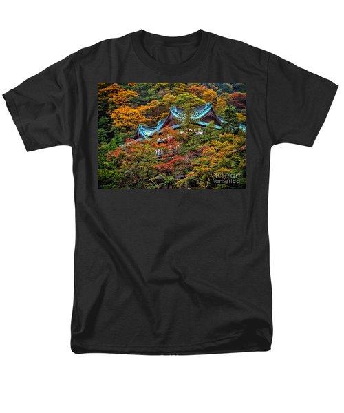 Autum In Japan Men's T-Shirt  (Regular Fit) by John Swartz