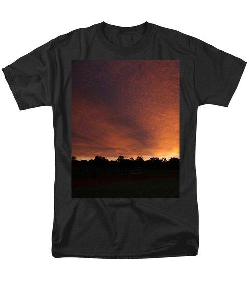 Autum Sunset Men's T-Shirt  (Regular Fit) by Mustafa Abdullah