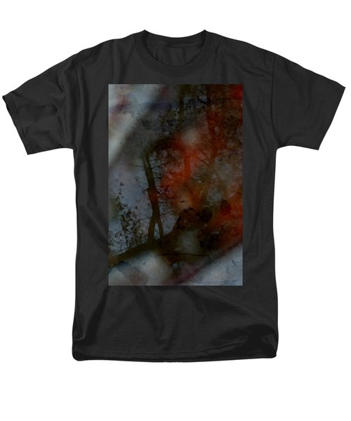 Men's T-Shirt  (Regular Fit) featuring the photograph Autumn Abstract by Photographic Arts And Design Studio