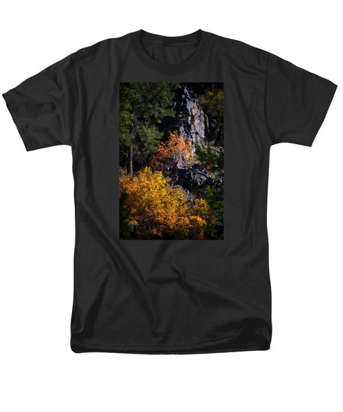 Men's T-Shirt  (Regular Fit) featuring the photograph Autumn Colors 2 by Newel Hunter