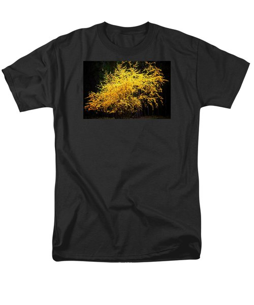 Men's T-Shirt  (Regular Fit) featuring the photograph Autumn Colors 4 by Newel Hunter