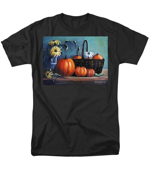 Men's T-Shirt  (Regular Fit) featuring the painting Autumn Gifts by Vesna Martinjak
