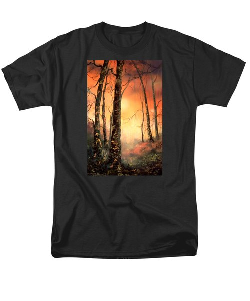 Men's T-Shirt  (Regular Fit) featuring the painting Autumn Glow by Jean Walker