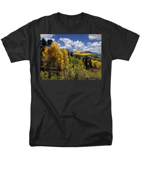 Autumn In New Mexico Men's T-Shirt  (Regular Fit) by Kurt Van Wagner