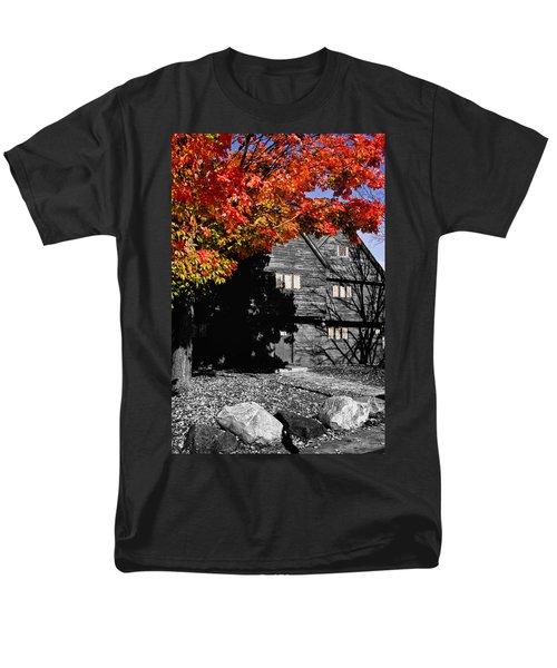 Autumn In Salem Men's T-Shirt  (Regular Fit) by Jeff Folger