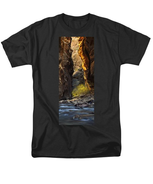 Men's T-Shirt  (Regular Fit) featuring the photograph Autumn In The Narrows by Andrew Soundarajan