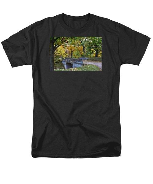 Autumn In The Park Men's T-Shirt  (Regular Fit) by Bruce Bley