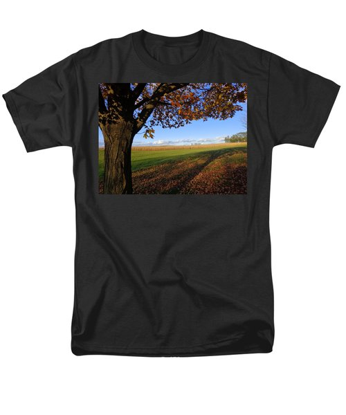Autumn Landscape Men's T-Shirt  (Regular Fit) by Joseph Skompski