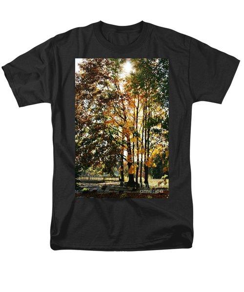 Autumn Light Men's T-Shirt  (Regular Fit) by Barbara Bardzik
