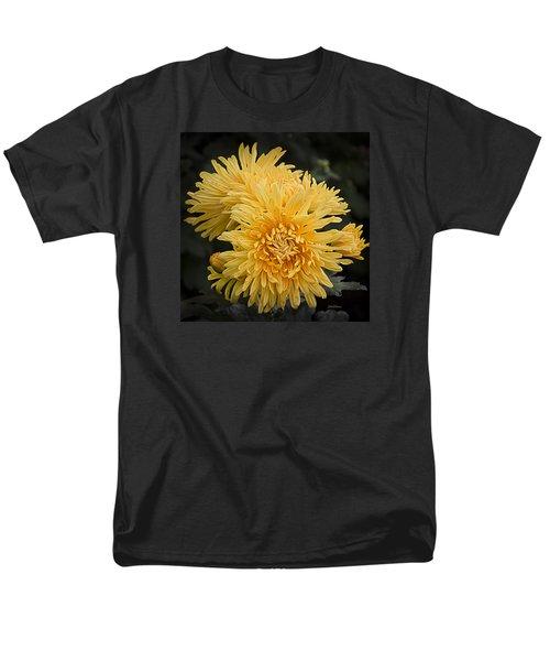 Men's T-Shirt  (Regular Fit) featuring the photograph Autumn Mums by Julie Palencia