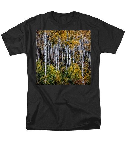 Men's T-Shirt  (Regular Fit) featuring the photograph Autumn On Mcclure Pass by Ken Smith