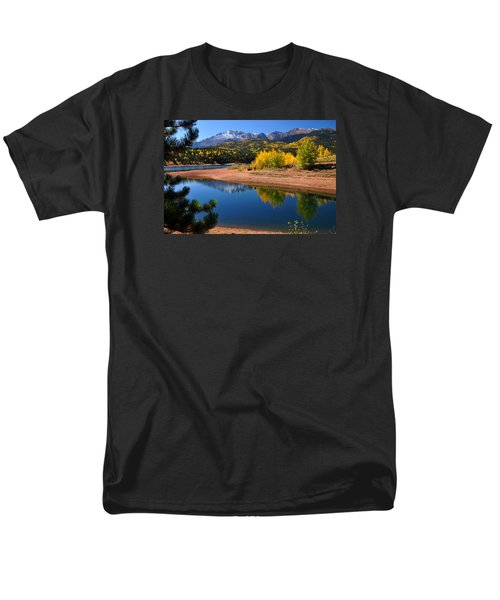 Autumn Reflections At Crystal Men's T-Shirt  (Regular Fit) by John Hoffman