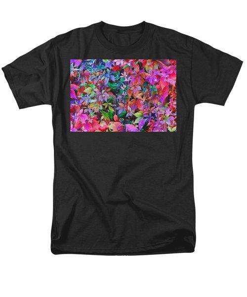Autumn Virginia Creeper Men's T-Shirt  (Regular Fit) by Diane Alexander