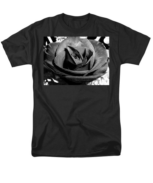 Awakened Black Rose Men's T-Shirt  (Regular Fit) by Nina Ficur Feenan