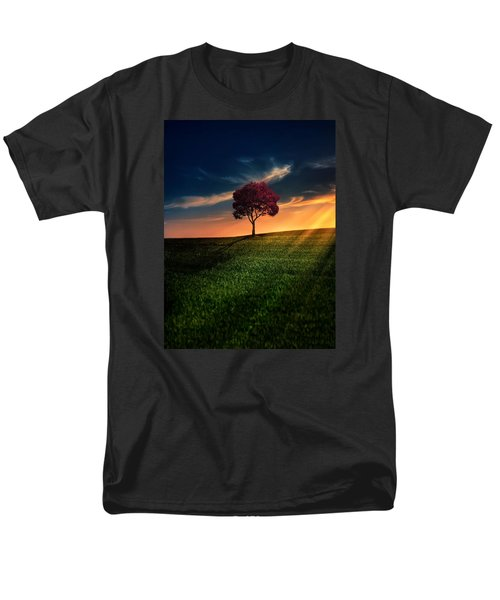 Awesome Solitude Men's T-Shirt  (Regular Fit) by Bess Hamiti
