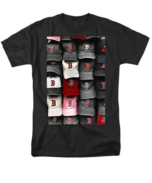 B For Bosox Men's T-Shirt  (Regular Fit) by Joann Vitali