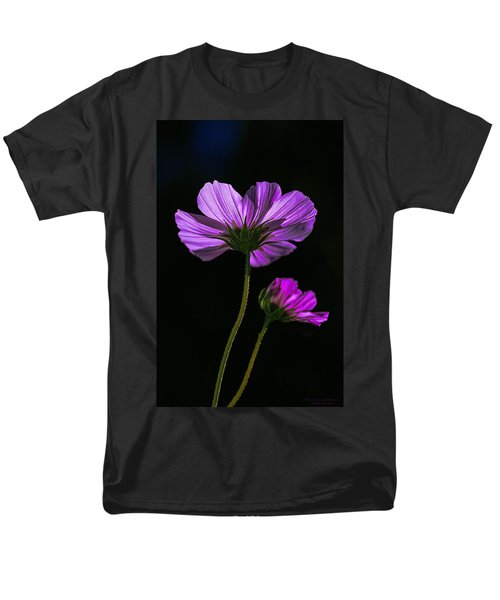 Backlit Blossoms Men's T-Shirt  (Regular Fit) by Marty Saccone