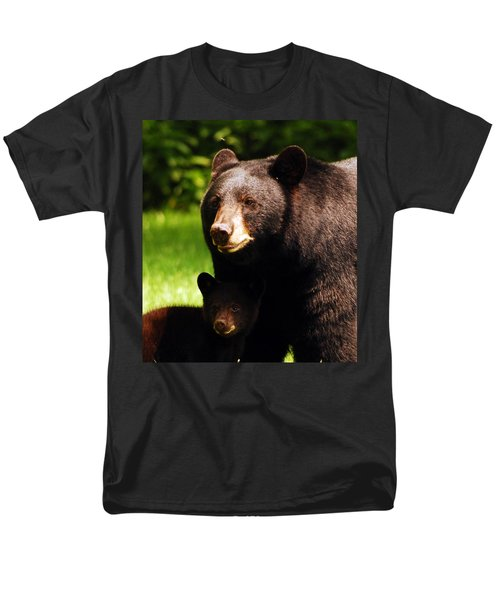 Backyard Bears Men's T-Shirt  (Regular Fit)