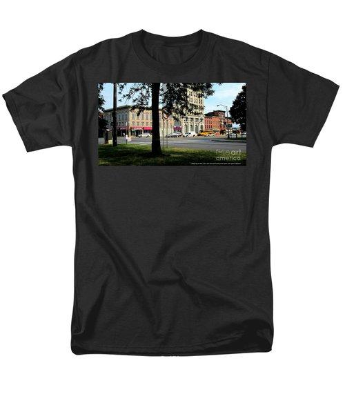 Bagg's Square West Men's T-Shirt  (Regular Fit) by Peter Gumaer Ogden