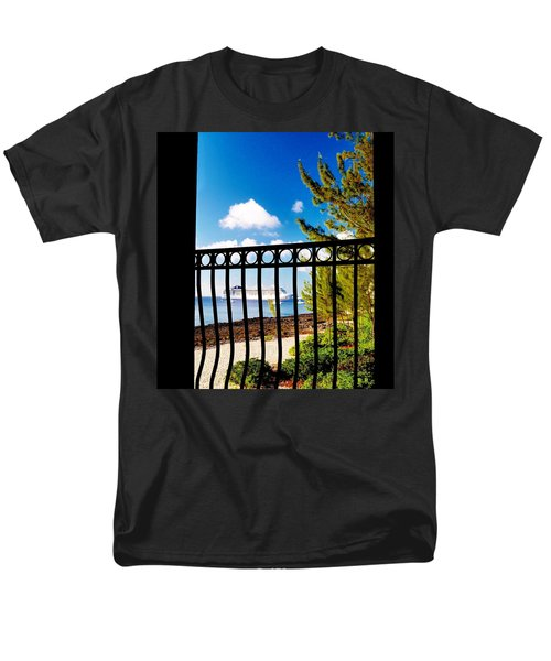 Men's T-Shirt  (Regular Fit) featuring the photograph Balcony Scene by Amar Sheow