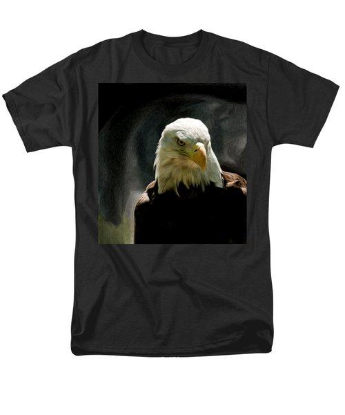 Bald Eagle Giving You That Eye Men's T-Shirt  (Regular Fit)