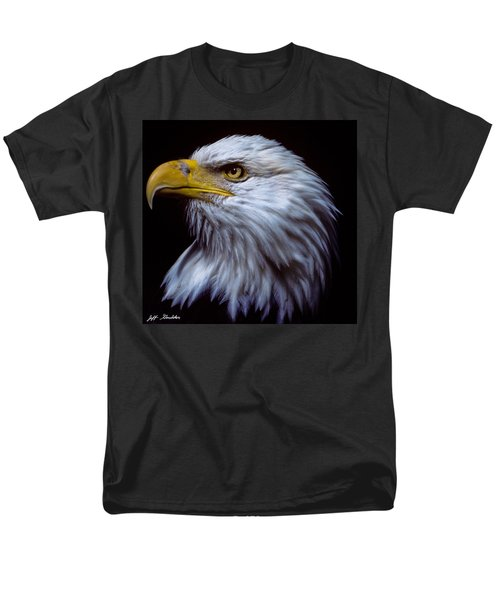 Men's T-Shirt  (Regular Fit) featuring the photograph Bald Eagle by Jeff Goulden
