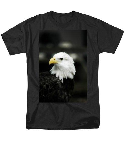 Bald Eagle Men's T-Shirt  (Regular Fit) by Peggy Franz