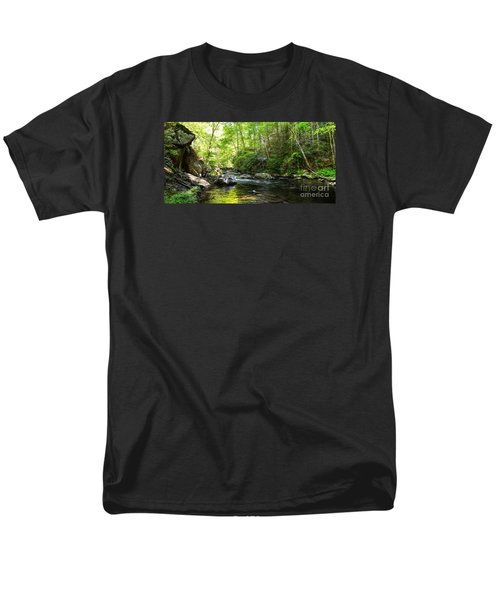 Bald River Men's T-Shirt  (Regular Fit) by Paul Mashburn