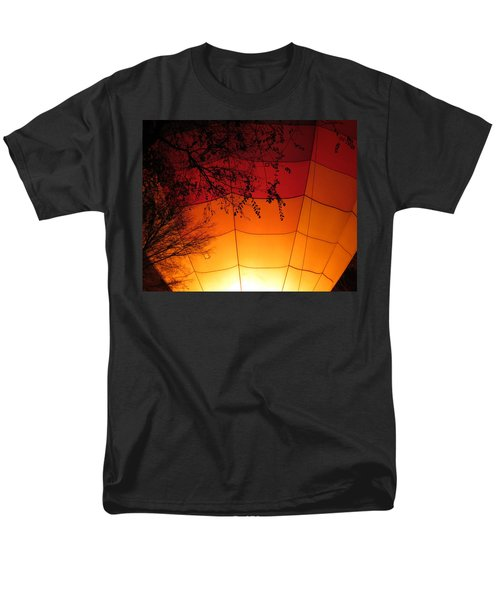 Balloon Glow Men's T-Shirt  (Regular Fit) by Laurel Powell