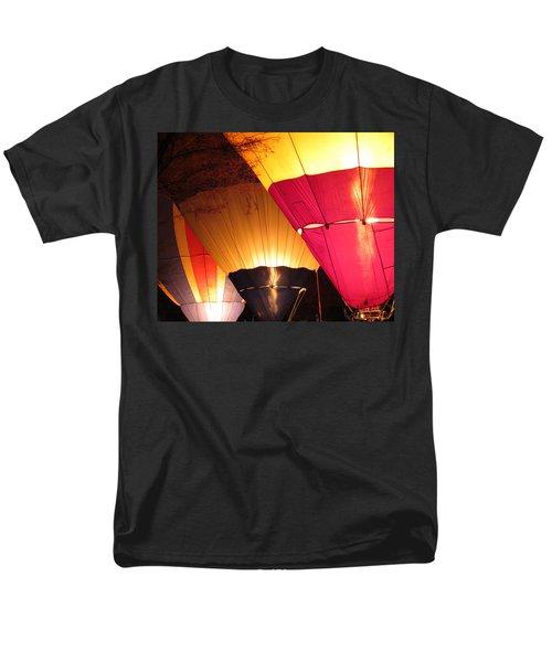 Balloons At Night Men's T-Shirt  (Regular Fit) by Laurel Powell