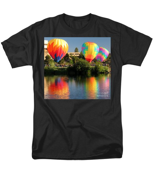 Men's T-Shirt  (Regular Fit) featuring the photograph Balloons Over Bend Oregon by Kevin Desrosiers