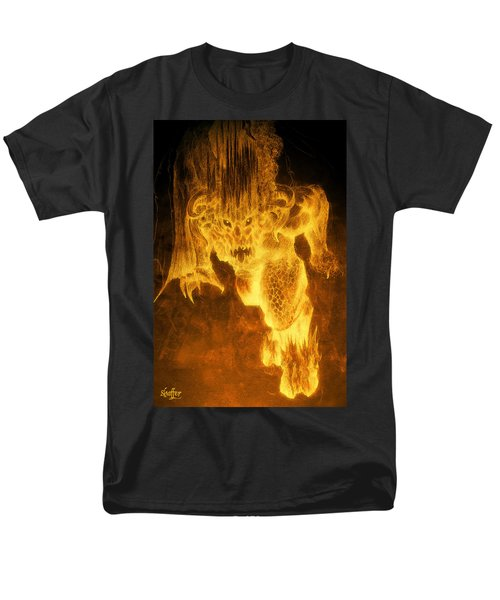Balrog Of Morgoth Men's T-Shirt  (Regular Fit) by Curtiss Shaffer