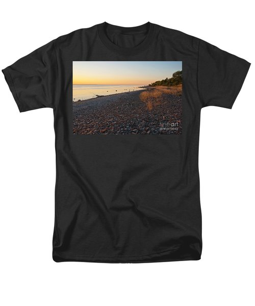 Baltic Sea Coast Men's T-Shirt  (Regular Fit) by Kennerth and Birgitta Kullman