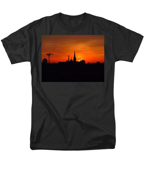Baltimore Dawn Men's T-Shirt  (Regular Fit) by Robert Geary