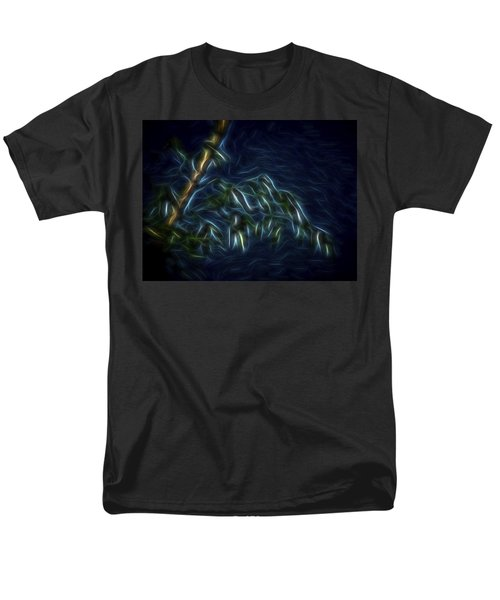 Men's T-Shirt  (Regular Fit) featuring the digital art Bamboo Wind 2 by William Horden