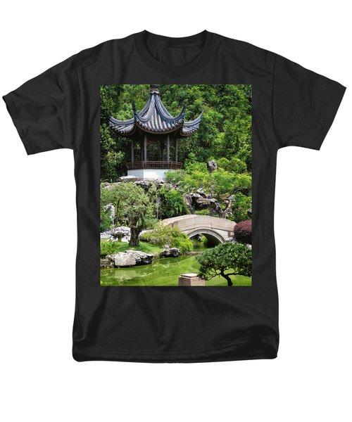 Bansi Garden Men's T-Shirt  (Regular Fit) by John Swartz