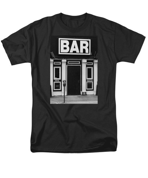 Men's T-Shirt  (Regular Fit) featuring the photograph Bar by Rodney Lee Williams