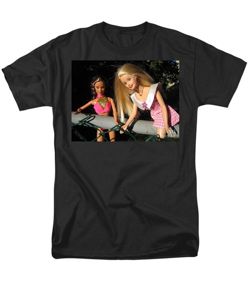 Men's T-Shirt  (Regular Fit) featuring the photograph Barbie Escapes by Nina Silver