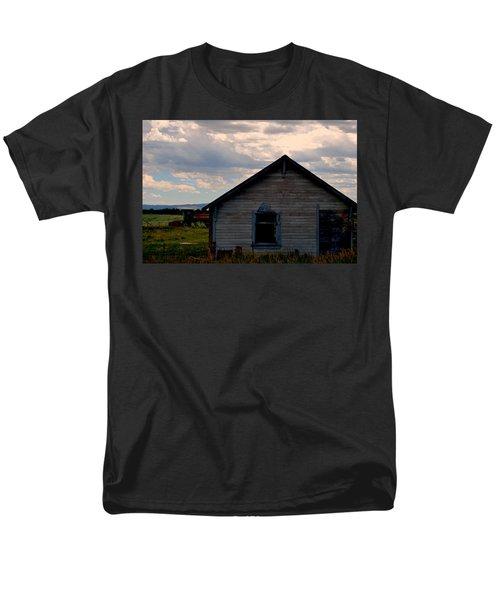 Barn And Tractor Men's T-Shirt  (Regular Fit) by Matt Harang