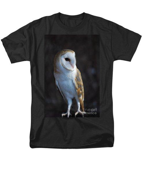 Barn Owl Men's T-Shirt  (Regular Fit) by Sharon Elliott