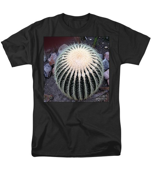 Men's T-Shirt  (Regular Fit) featuring the photograph Barrel Cactus by Luther Fine Art