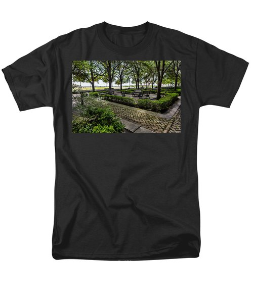 Battery Park Men's T-Shirt  (Regular Fit) by Sennie Pierson