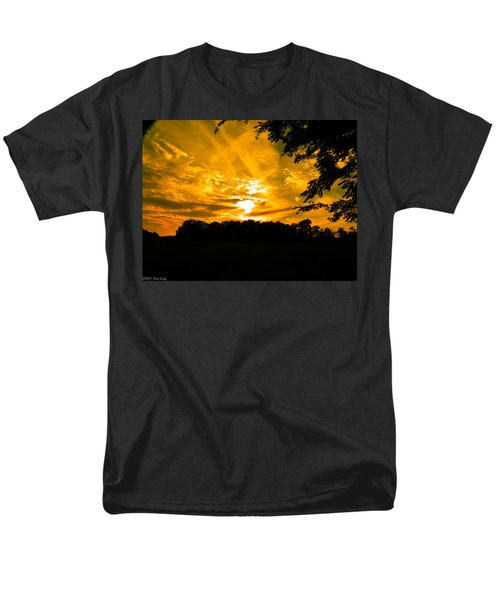 Battle Of The Clouds Men's T-Shirt  (Regular Fit) by Nick Kirby